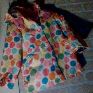 OshKosh B'gosh Polkadot Raincoat